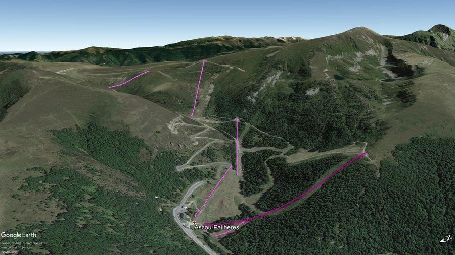 Vista Google Earth Pro Ascou Temporada 2020/21