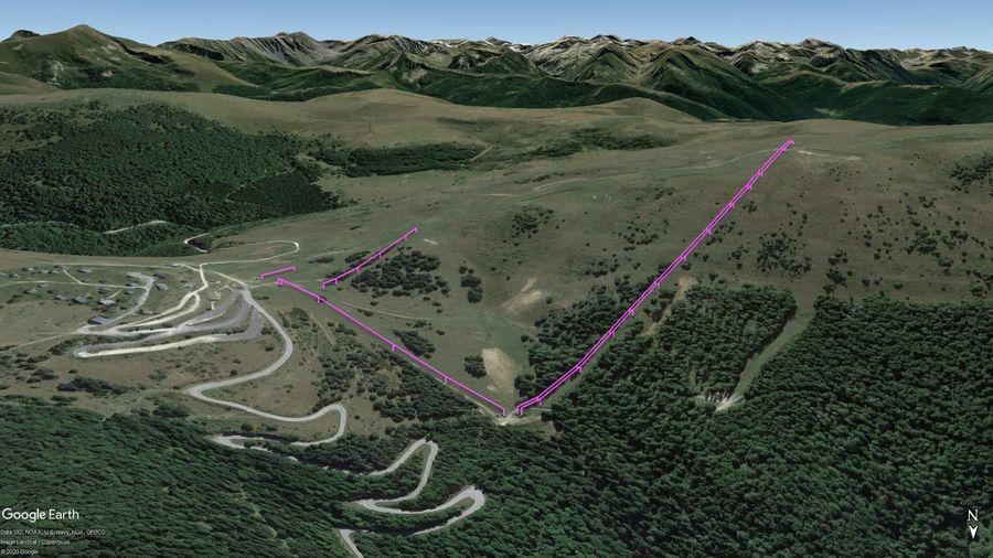 Vista Google Earth Pro Camurac Temporada 2020/21