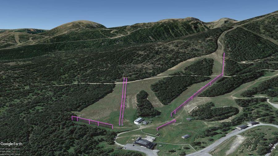 Vista Google Earth Pro Puyvalador, Temporada 2020/21