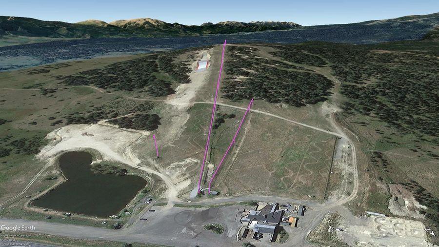 Vista Google Earth Pro La Quillane Temporada 2020/21