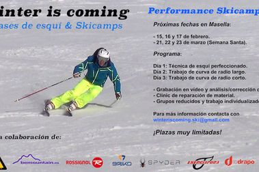 Winter is coming: Próximas fechas de Skicamps