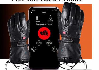 Guantes calefactables de esquí Tugga