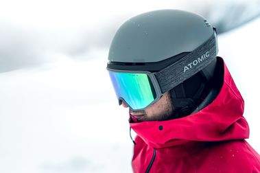 Atomic máscara y casco: All mountain, all style