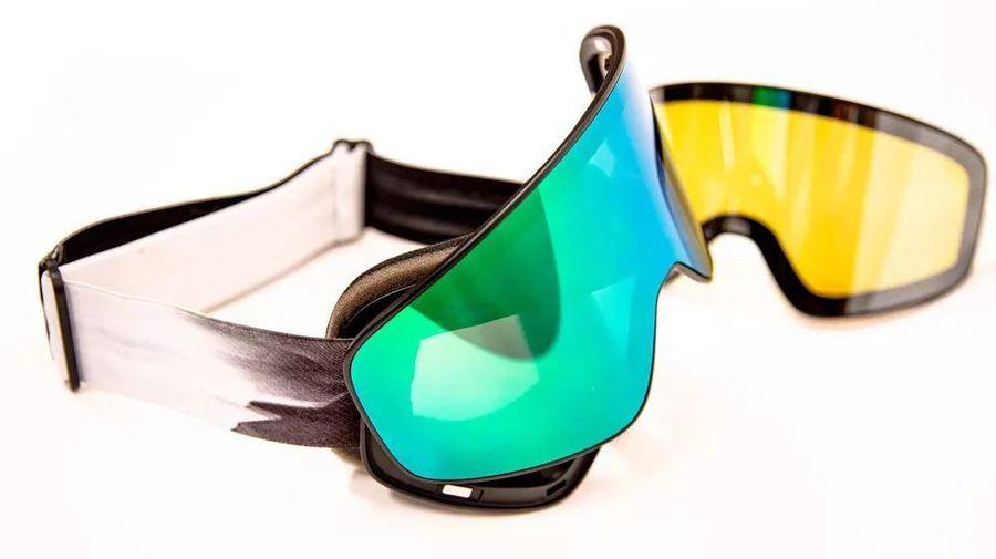 pantalla intercambiable de mascara de esqui