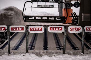 Francia tampoco abrirá los remontes de las estaciones de esquí en febrero