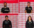 Selección española en los Mundiales Junior Hafjell-2015