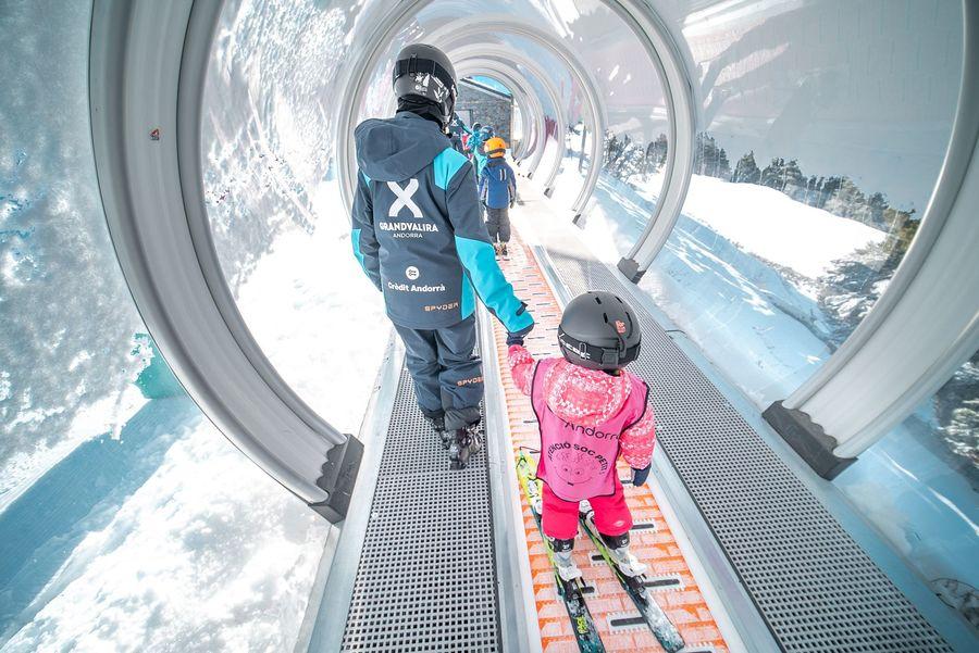Clases de esquí en Grandvalira