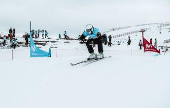 Sierra Nevada cierra la 2º fase de la Copa de España de SBX y Skicross