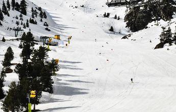Ordino Arcalís abre de nuevo para entrenamientos de esquí de la FAE
