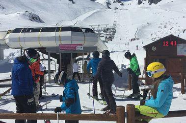 """Las estaciones de esquí de León cierran una temporada """"muy positiva"""""""