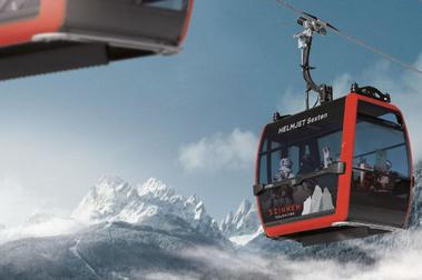 Nuevo telecabina premium para el dominio esquiable Dolomiti Superski