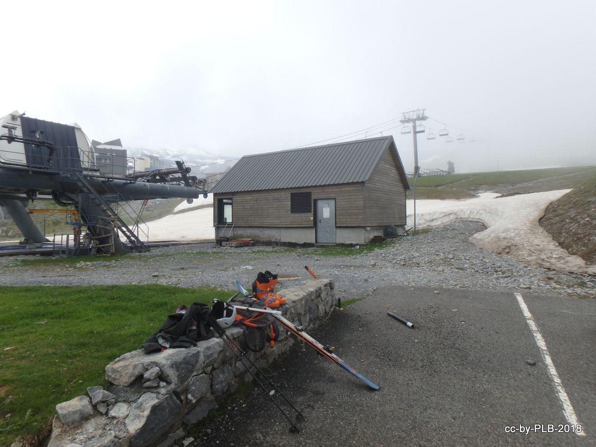 [2-jun] Carrera contra la lluvia en La Pierre Saint-Martin