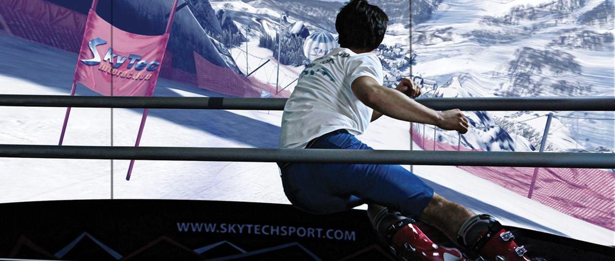 Esquiades.com y Vallnord Pal-Arinsal montan en Andorra el simulador de esquí más innovador del mundo