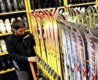 Argentina se queda sin material de esquí