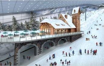 Wanda Ski indoor podría acoger algún evento de Pekín 2020