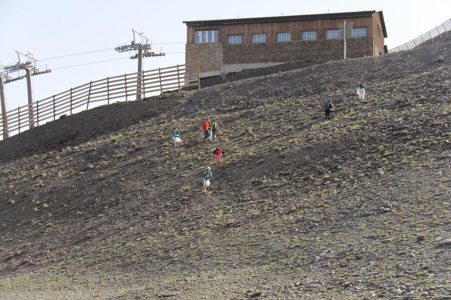 Comando basurista de Sierra Nevada