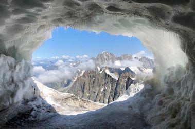 Cómo lucen los Alpes en agosto