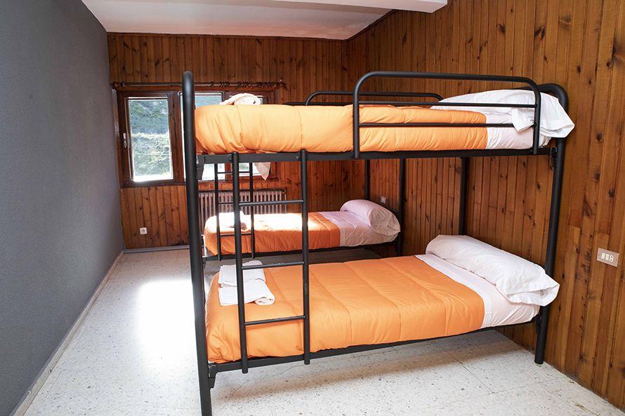 Alojamiento en el Albergue Universitario de El Brañillin