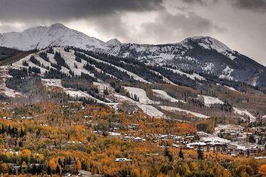 Imágenes de las primeras nevadas en Estados Unidos