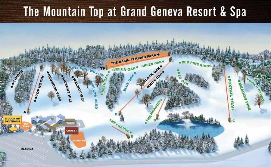 Grand Geneva Map