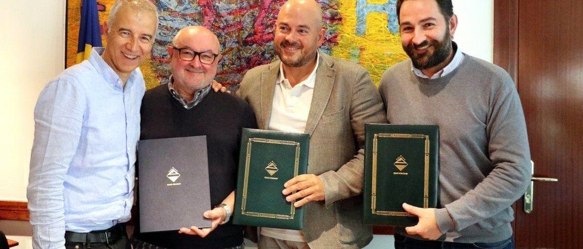 Acuerdo para continuar con las obras de ampliación de PasGrau