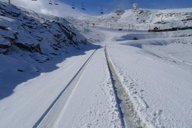 Primera nevada Sierra Nevada