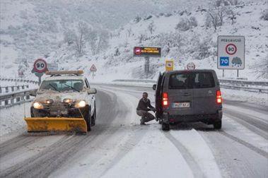 Comienza en Andorra la obligación de cadenas o neumáticos de invierno