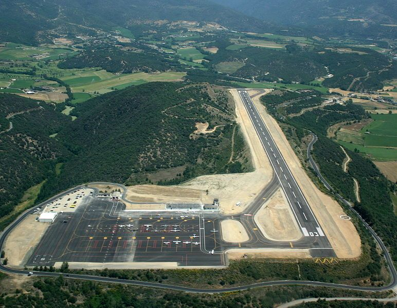 Pista del Aeropuerto de la Seu d'Urgell