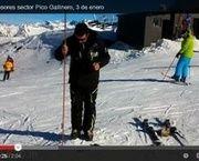 Cerler ya tiene 2 metros de nieve