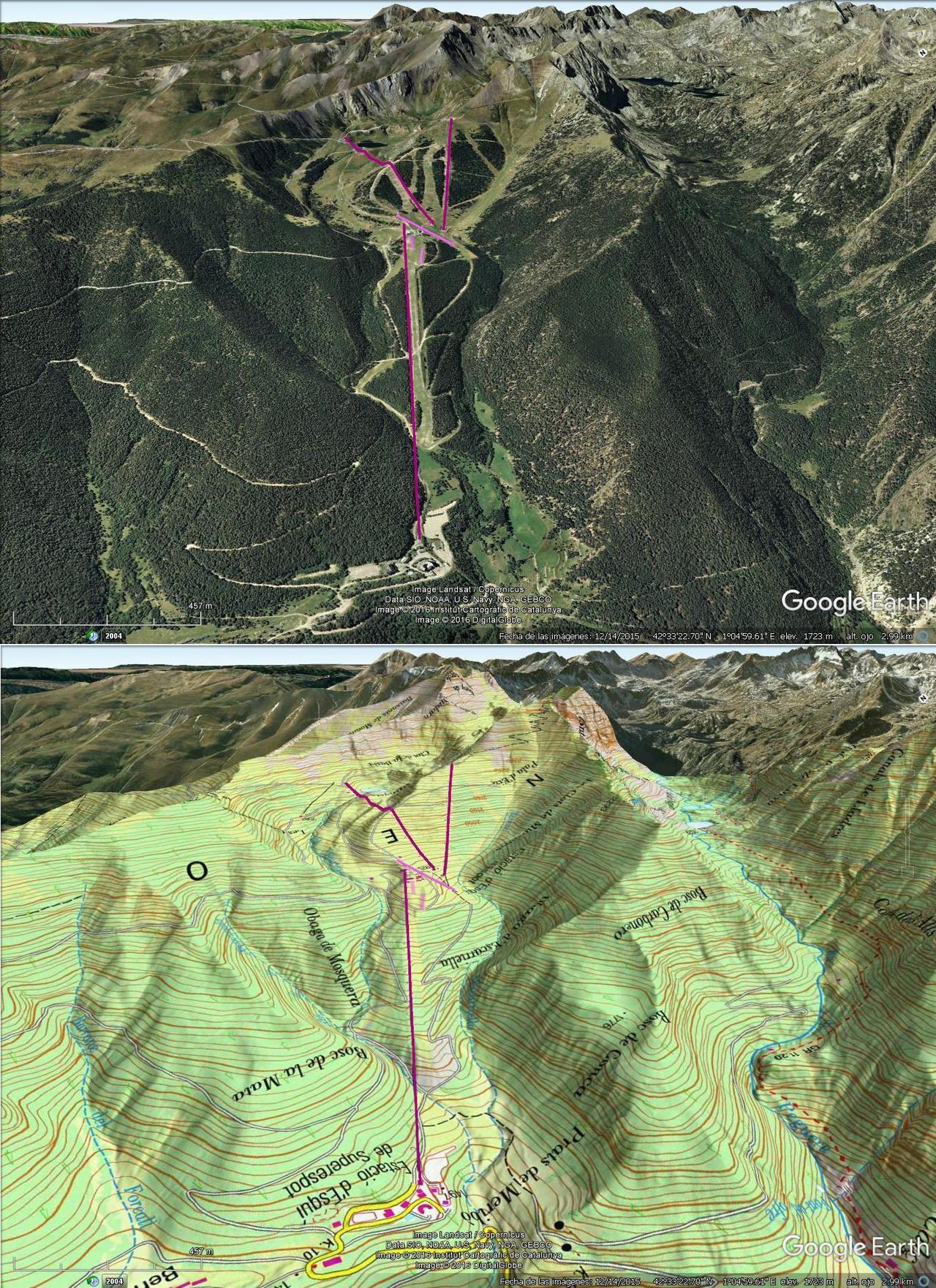 Vistas Google Earth Espot 2016-17