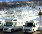 Aparcamiento para autocaravanas en La Molina