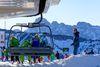Las estaciones del Pirineo de Aragón vuelven a fabricar nieve a destajo