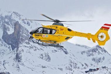 Padre e hijo sufren un accidente al mismo tiempo provocado por dos esquiadores distintos