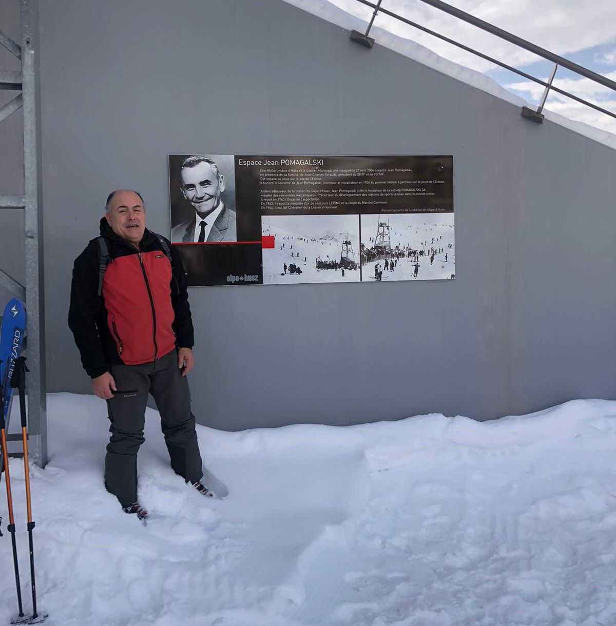 Espace Jean Pomagalski en Alpe d'Huez