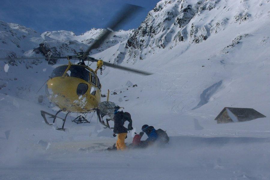 Heli-ski Arán