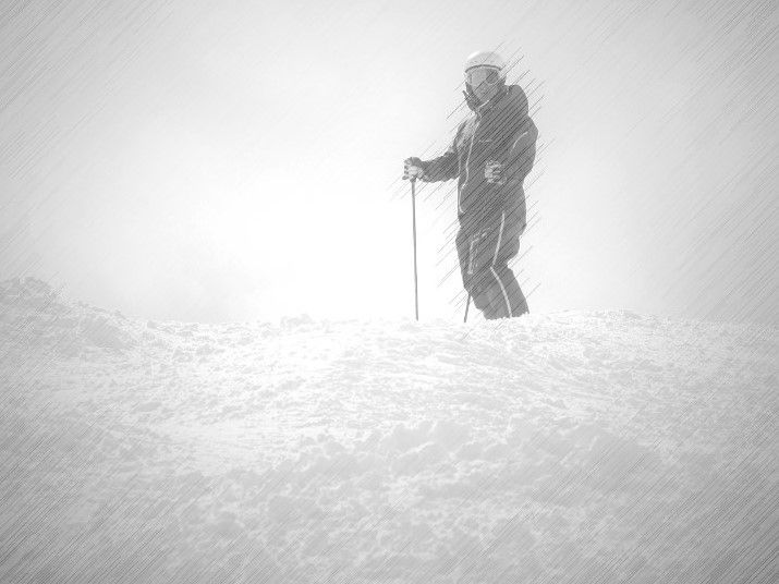 fluir en el esquí XII