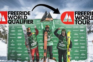 Freeride World Tour y Qualifier, ¿Cómo se llega a la élite del Freeride?