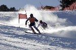 Primer triunfo para Jon Santacana en la final de la Copa del Mundo de Esquí Alpino