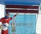 Record de velocidad en... esquís de fondo!!