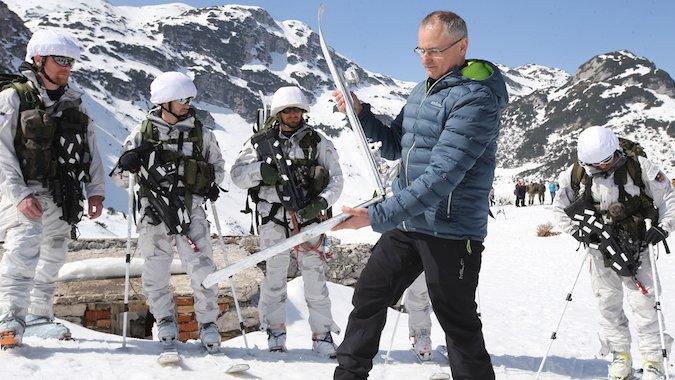 El último invento de Elan: skis plegables