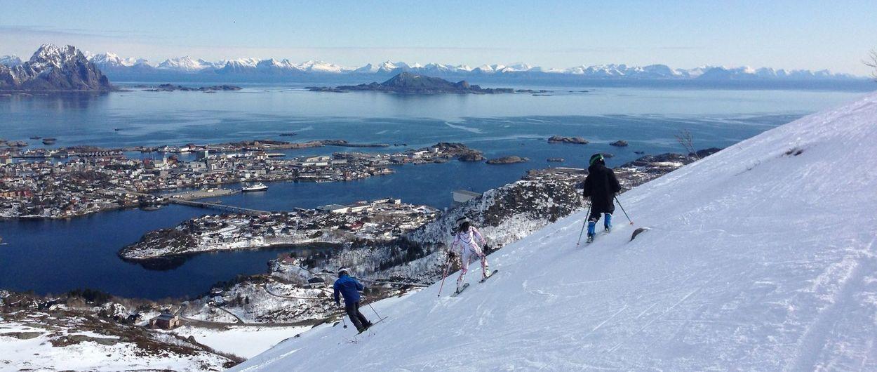 Kongstinden: la única estación de esquí en Noruega con permiso para abrir