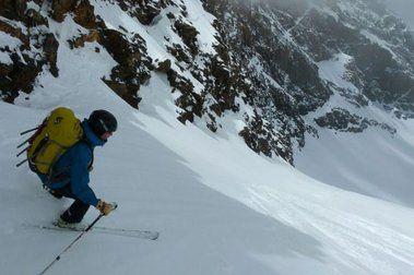 Sierra Nevada, 1 de mayo: 1350 m. esquiados y 28 km. recorridos
