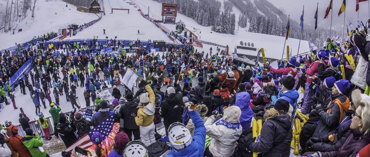 Tres candidatas para los Mundiales de esquí alpino en 2025