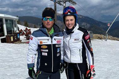 Mauro Pini entrenará a la esquiadora Petra Vlhova