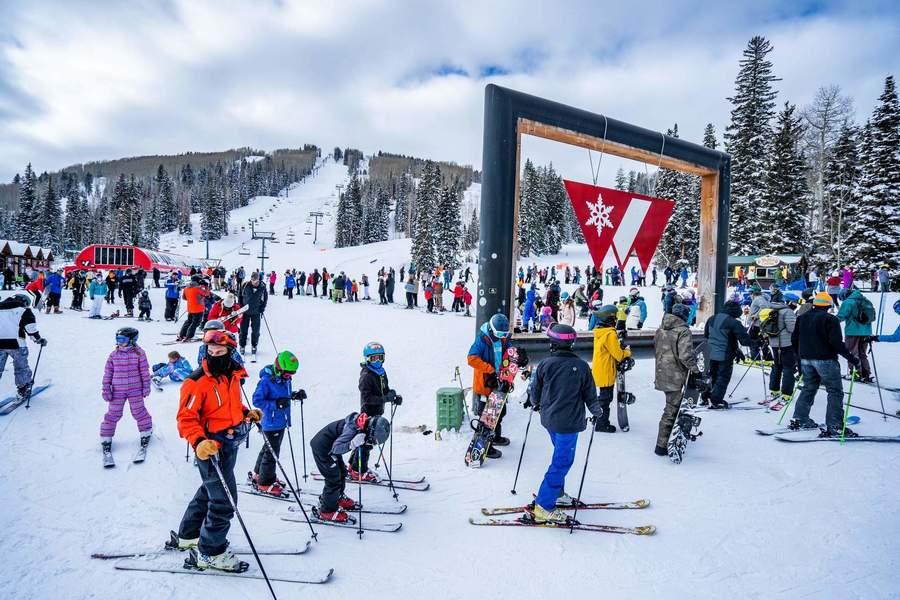estacion de esqui en Colorado