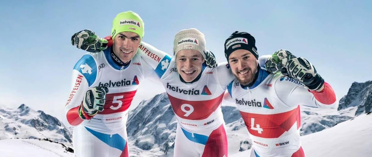 Selección Oficial de esquí alpino de Suiza para la temporada 2021-2022
