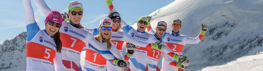 Equipo de esquí de Suiza