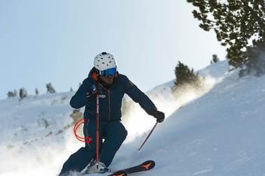 Patrones del esquí.