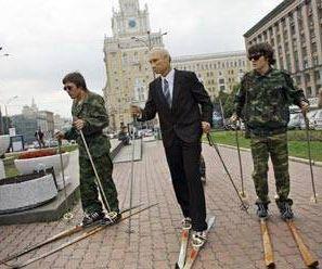 Disfrazado de Putin