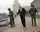 Manifestantante anti Juegos Olímpicos detenido en Moscú